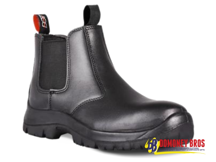 Dot Chelsea Safety Boot Black - Domoney